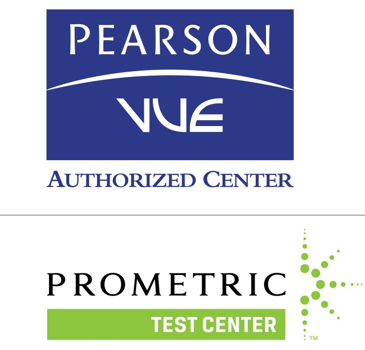Pearson Vue and Prometic Logo